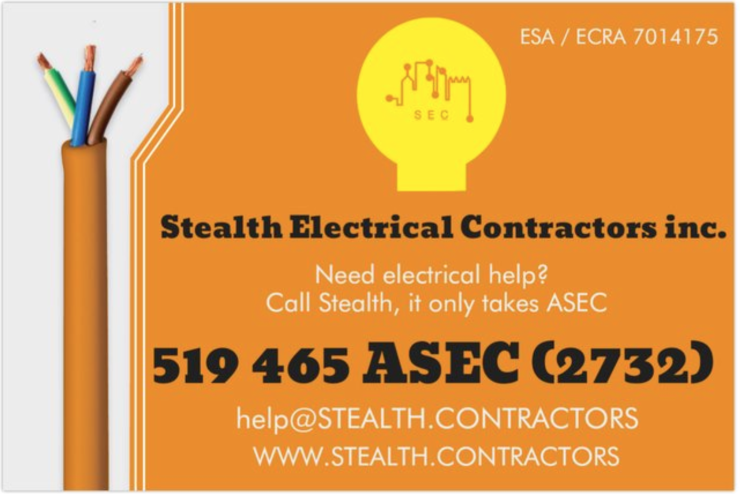 Stealth Electrical Contractors Inc logo